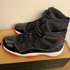 Air Jordan Retro 11 - black/true red-white